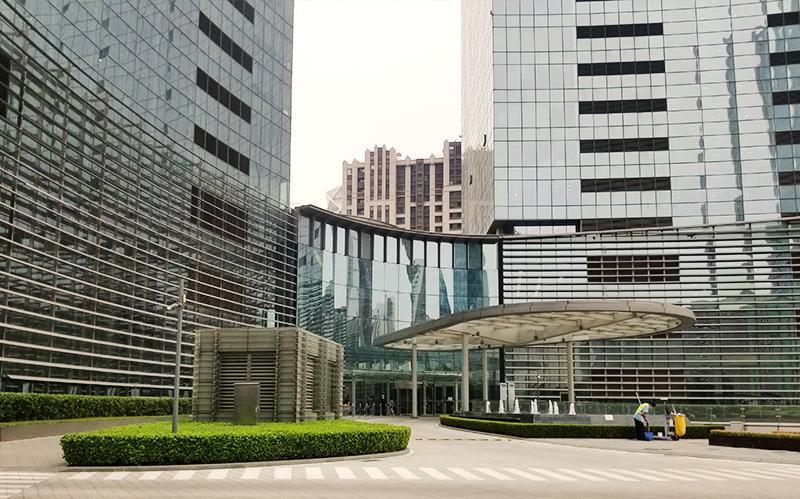 건물1층 로비